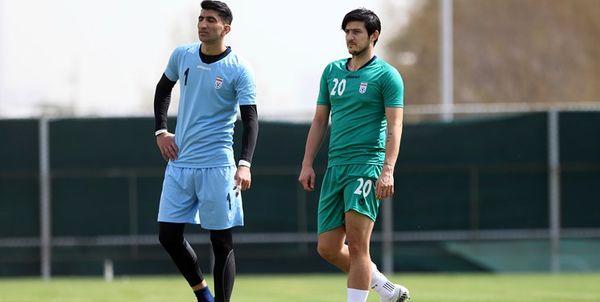گزارش تمرین تیم ملی قبل از بازی با سوریه