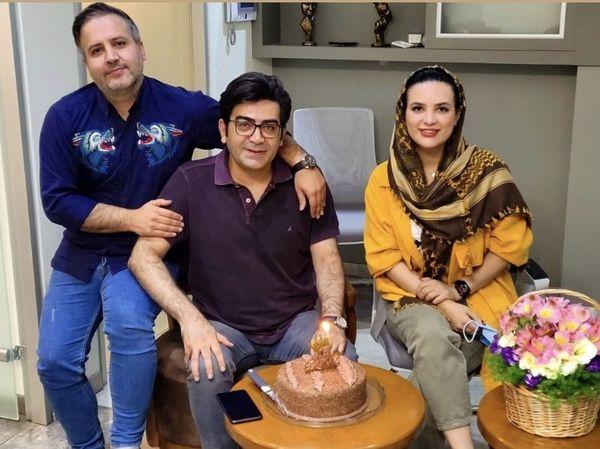 تولد امسال فرزاد حسنی با دوستانش + عکس