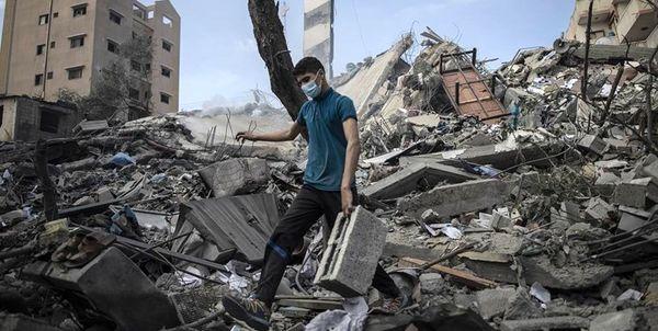 گانتس برای بازسازی غزه شرط گذاشت
