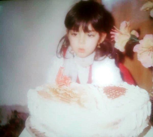 عکس ناز آزاده نامداری در تولدش