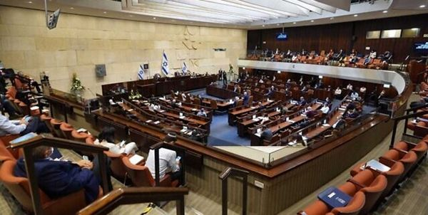 موافقت اولیه پارلمان اسرائیل با انحلال