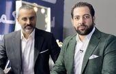 علیرام نورایی در کنار مجری مشهور + عکس