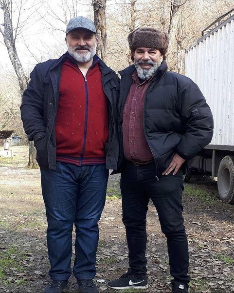 مهدی سلطانی و داریوش سلیمی در کنار هم + عکس