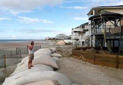 طوفان فلورنس به ساحل شرقی آمریکا رسید
