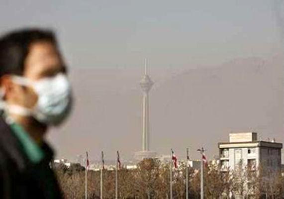 هوای تهران در وضعیت قرمز قرار گرفت