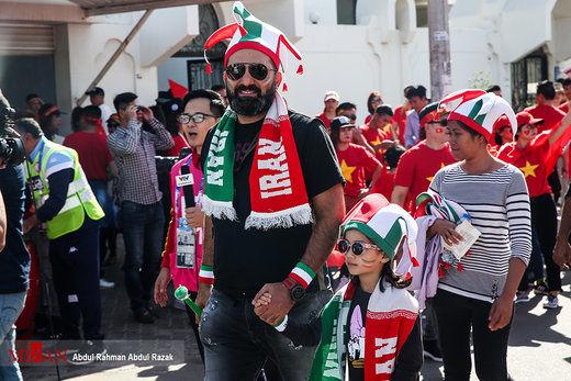 هواداران ایرانی توجه کنفدراسیون فوتبال آسیا را جلب کردند