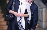 فاطمه گودرزی و شیطنت پسرش در عکس
