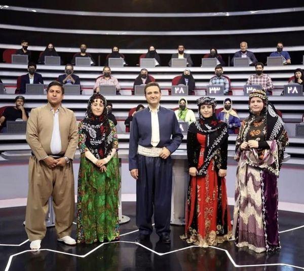 سعید شیخ زاده در یک مسابقه محلی + عکس