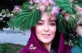عکس بهاری زیبای خانم بازیگر