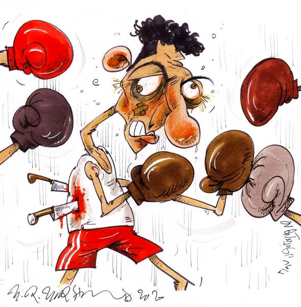 کاریکاتور:بازگشت دیدنی عادل فردوسیپور به تلویزیون!