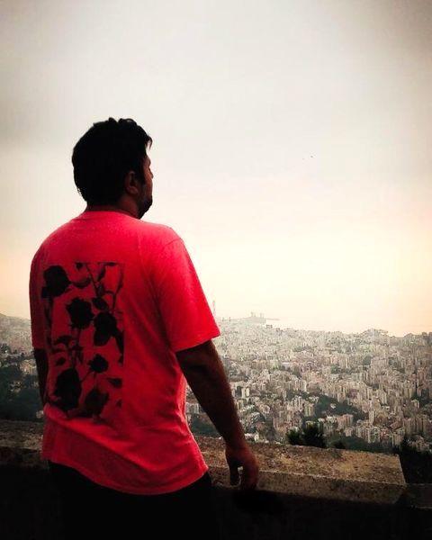 تی شرت بامزه محمد علیزاده + عکس