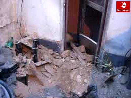مرگ 3 نفر در ریزش یک خانه