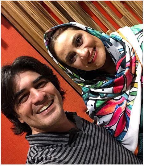 آقای پیانیست محبوب مهران مدیری در کنار خانم بازیگر+عکس