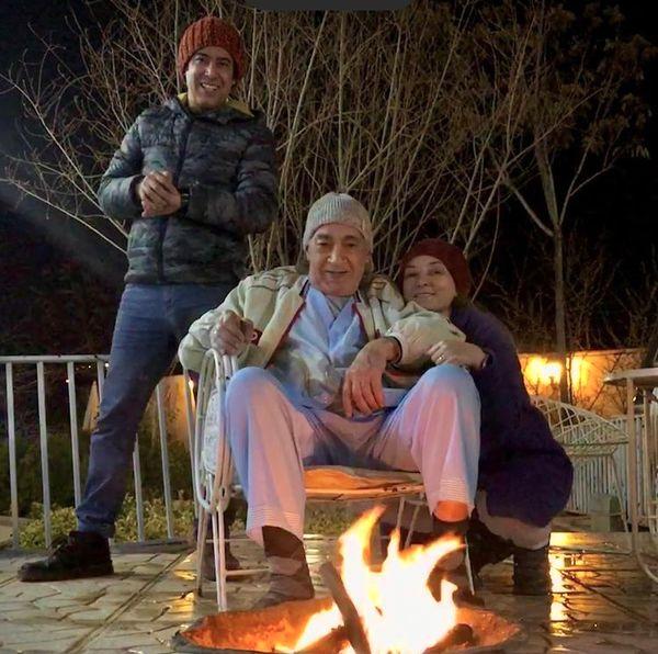 سحر ولدبیگی در ویلای پدریش + عکس