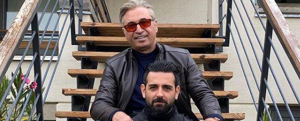 امیرحسین آرمان و حمید فرخ نژاد پشت صحنه میدان سرخ + عکس
