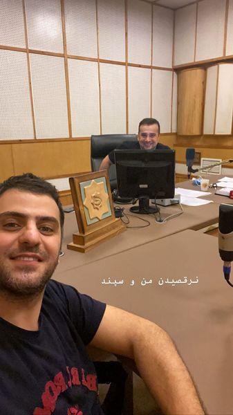 نرقصیدن علی ضیا و سپند امیرسلیمانی + عکس