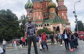 تیپ اسپورت حامد حدادی در روسیه+عکس