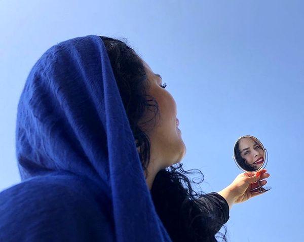 آینه خوشبختی ملیکا شریفی نیا + عکس