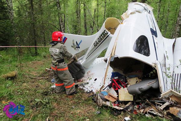 2 کشته در سقوط هواپیمای روسیه