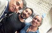 حضور مازیار فلاحی در اکران خصوصی فیلم سرخپوست+عکس