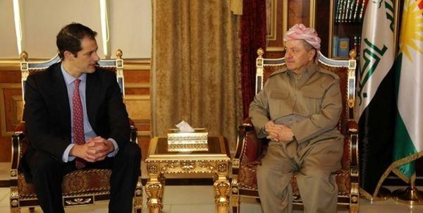 دیدار معاون وزیر خارجه آمریکا با مقامهای کردستان عراق