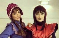 گریم عجیب و اروپایی طور شبنم قلی خانی و مارال فرجاد+عکس