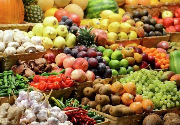 88 درصد مردم کمتر از حد نیاز میوه و سبزی میخورند