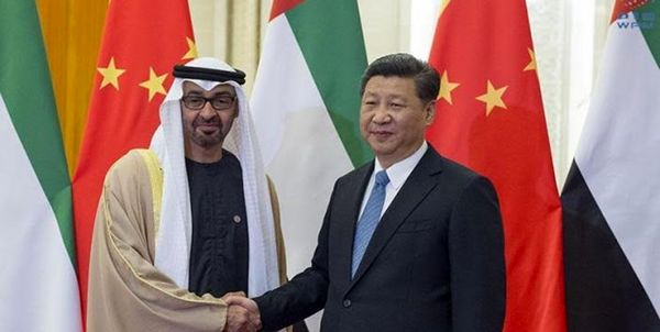 تحویل نامه رئیسجمهور چین به ولیعهد ابوظبی