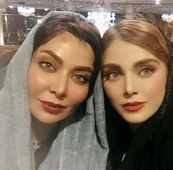 فقیهه سلطانی و خواهر کوچکش + عکس