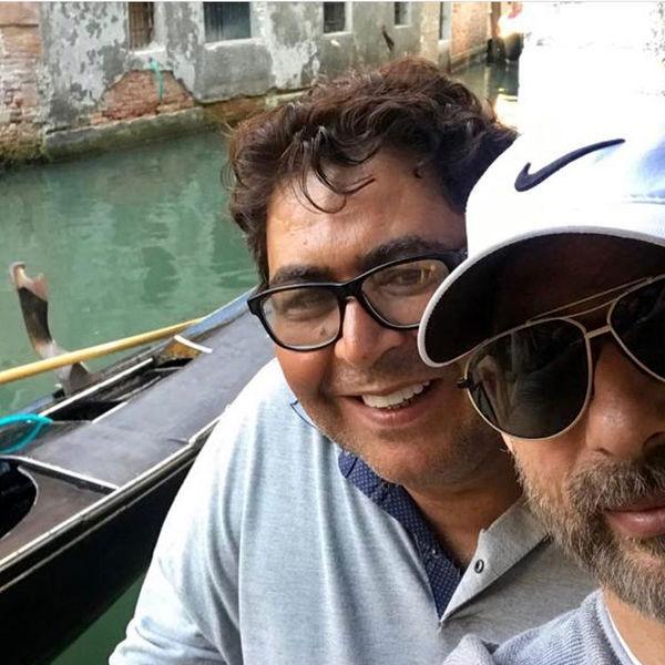 گشت وگذار آقایون بازیگر در ایتالیا + عکس