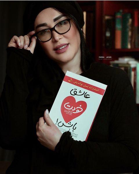 کتاب عاشقانه سارا منجزی پور + عکس