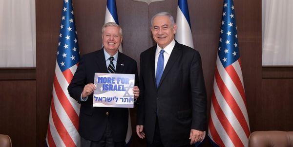قدردانی نتانیاهو از یک سناتور