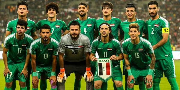 اردوی تدارکاتی تیم ملی عراق در امارات+عکس