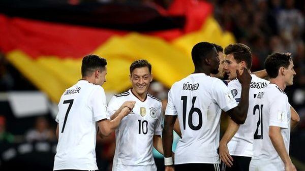 جمع ستارههای آلمان در تیم ملی!