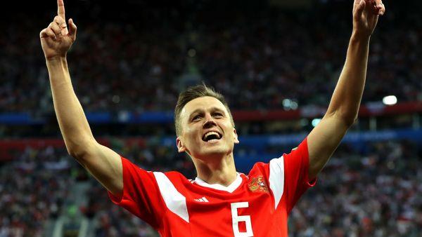 شکایت اسپانیاییها از ستاره فوتبال روسیه