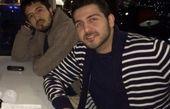 مهرداد صدیقیان و محمدرضا غفاری در یک رستوران + عکس