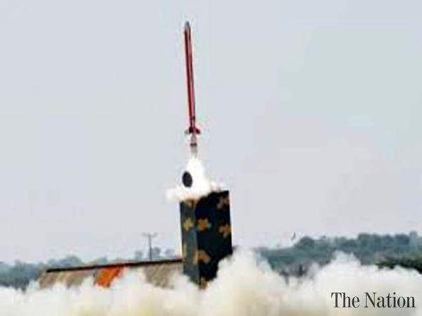 پاکستان یک موشک کروز آزمایش کرد