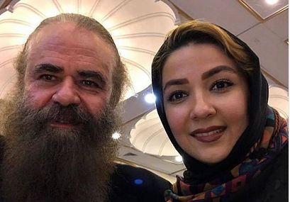 سارا صوفیانی و همسرش امیرحسین شریفی/عکس