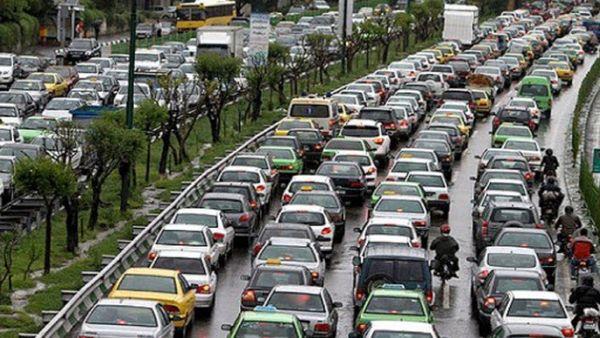علت ترافیک شدید صبح امروز در مسیر غرب به شرق اتوبان شهید همت