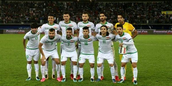 سقف فدراسیون فوتبال عراق ریخت!+تصاویر