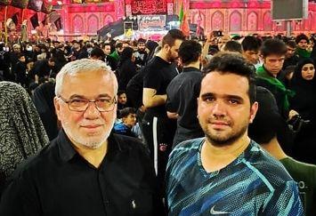 علی فتحاللهزاده و پسرش در سفر عشق+عکس