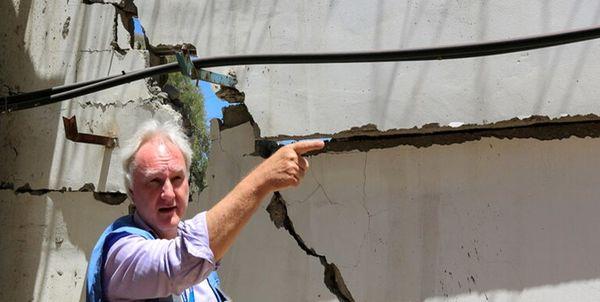 عذرخواهی مدیر عملیات آژانس امدادرسانی سازمان ملل از مردم غزه