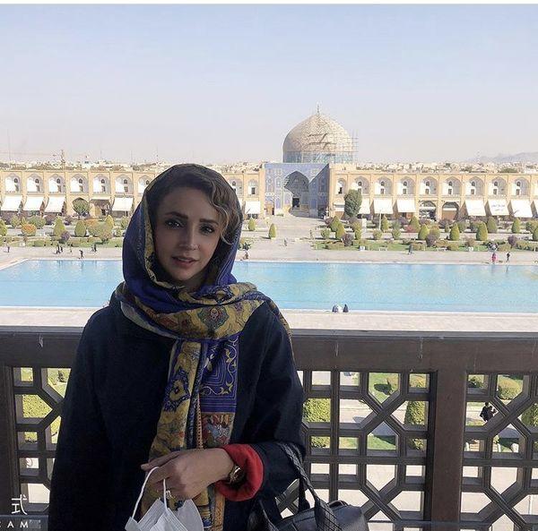شبنم قلی خانی در اصفهان + عکس