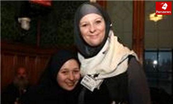 آرامش «الکساندرا» ۱۲ساله و خوشبختی «شیلا» ۱۵ساله بهخاطر اسلام