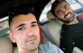 دو فوتبالیست معروف در مسافرت