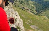 کوهنوردی رضا بهرام + عکس
