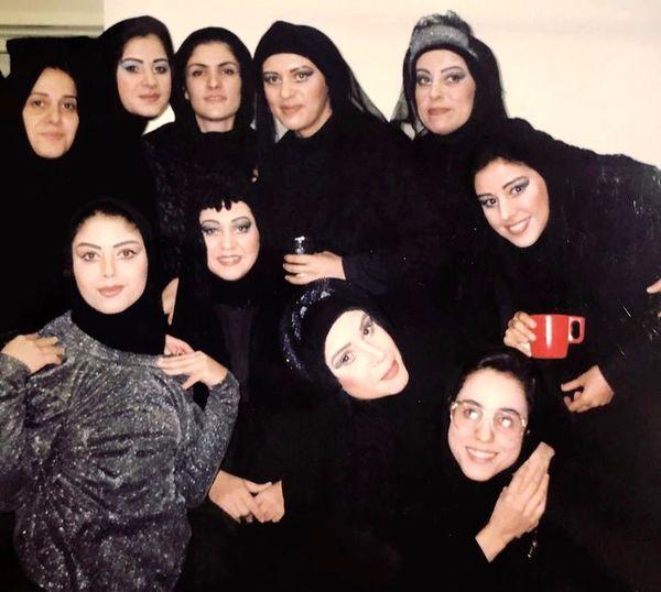روزگاران قدیم رویا تیموریان در تئاتر + عکس