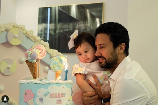 تم زیبای تولد دختر نمکی شاهرخ استخری+عکس