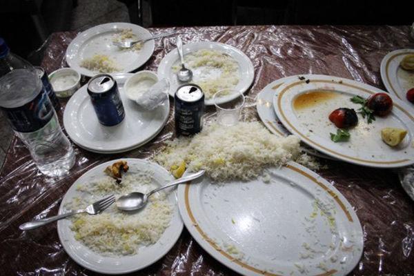 ارزش اقتصادی دور ریز غذا در ایران چقدر؟