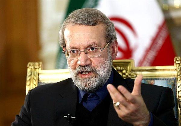 لاریجانی در دیدار با رییس مجلس ویتنام:موضع ایران و ویتنام شبیه به یکدیگر است